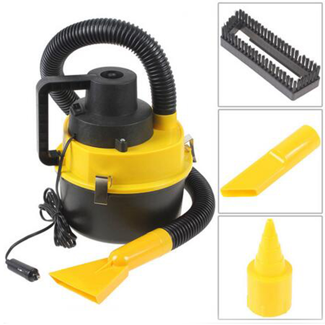 free shipping Dc12V High Power Wet And Dry Portable Handheld Car Vacuum Cleaner Washer Car Mini Dust Vacuum Cleaner(China (Mainland))