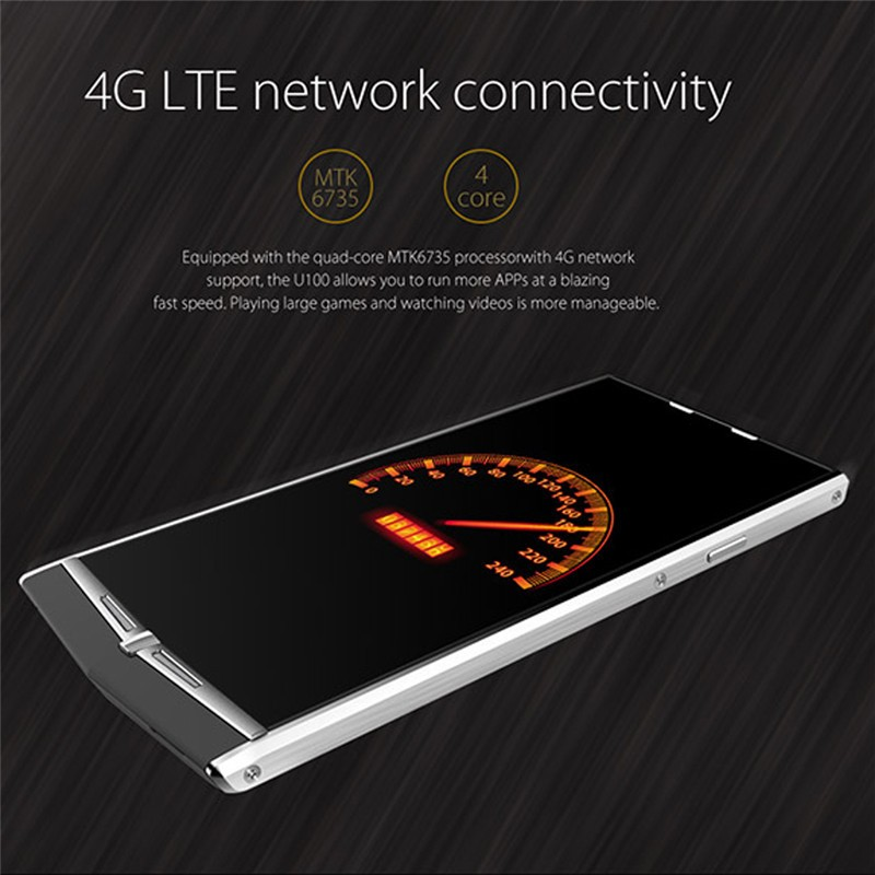 Original UHANS U100 4.7 inch HD OGS Android 5.1 4G FDD LTE Smartphone MTK6735 Quad Core 2GB RAM 16GB ROM 13.0MP Free shipping