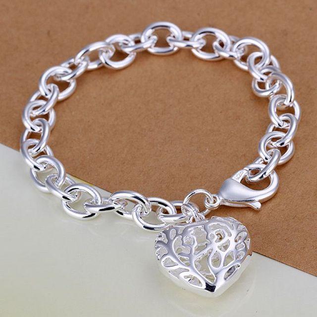 H269 925 ювелирных изделий посеребренные браслет, 925-sterling-silver мода ювелирных ...