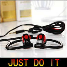 3.5mm In ear Sport Earphones Headphone, good bass Headsets Stereo Running Earbud with Mic for cellphone MP3 MP4 free shipping