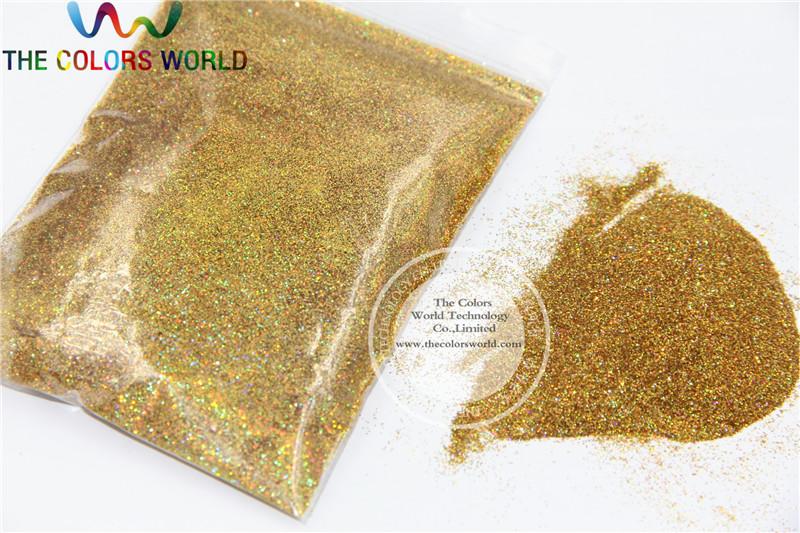 0.2mm Laser gold glitter powder shining dust(China (Mainland))