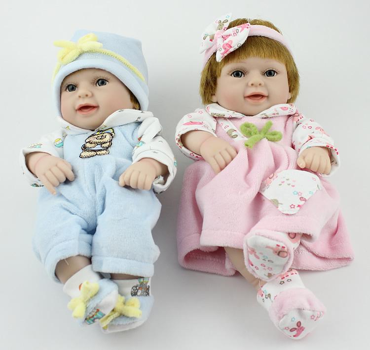 Toys For Twins : Handmade toys for children lifelike quot vinyl reborn