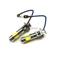 2x7.5W Super Bright 12V H3 Car/Motorcycle LED Fog Light  White light bulb Fog Running Light Bulb Headlight DRL