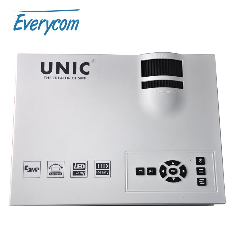 Original UNIC UC40 Mini Pico portable 3D Projector USB HDMI For Home Theater beamer Digital multimedia Korean Russian Spanish(China (Mainland))