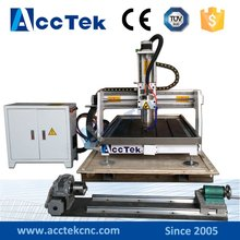 made in china cnc carving machine AKG6090 mini cnc router 4 axis
