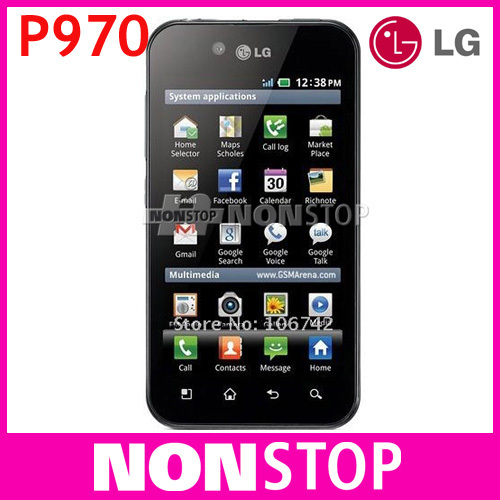 "P970 Original LG Optimus P970 GPS WIFI 4.0"" 3G 5MP Unlocked Mobile Phone"