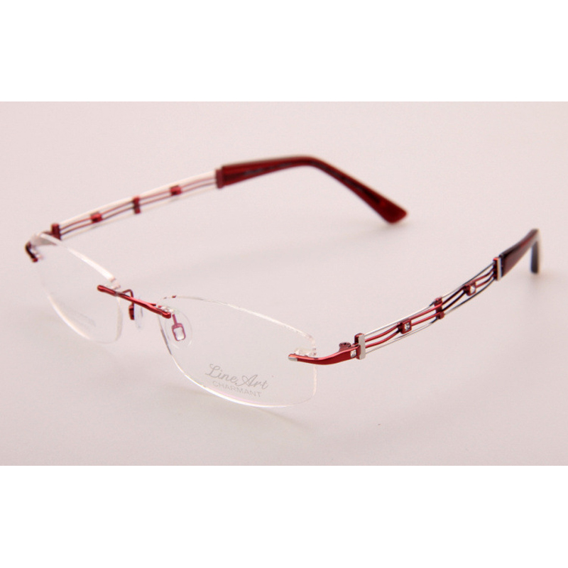 Designer Rimless Eyeglasses : XL2025 charmant optical frames 2015 new brand designer ...