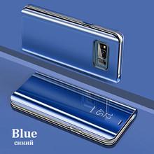 Espejo inteligente Flip caso de Huawei P30 P20 amigo 20 10 Pro Lite P Smart 2019 Honor 20 20 7C, 8X10, 8 9 Lite 9i Nova 5 3i caso(China)