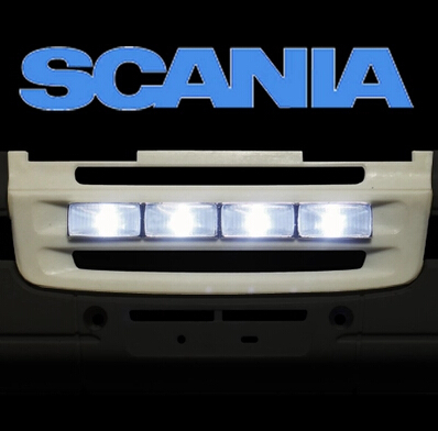 Tamiya TAMIYA 1:14 scania tractor trailer lighting grid (plated version) - Supermarket online store