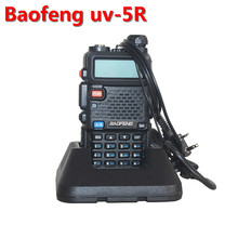 2pcs Baofeng UV-5R Pofung UV 5R UV5R Two Way Ham CB Portable Radio VHF UHF Dual Band Transmitter Handy Walkie Walk Talkie Sets