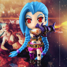 Anime New Arrival Lol Classic Jinx Pvc Action Figure Collectible Hand Model Doll Figure Toy w