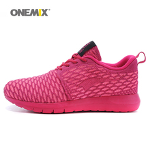 Free Ship Woman Running Shoes For Women Olympic Breathable Athletic Trainers Red Zapatillas Sports Shoe Outdoor Walking Sneakers