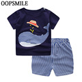 New Summer Baby T Shirt For Boys Girls Kids Clothes Short Sleeve Cartoon T-Shirt Baby Boy Girl Clothes bebes Toddler Tops Tee