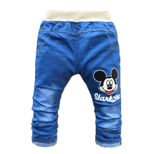 Summer Kids Boy Pants Cartoon Children Baby Clothes Toddler Girls Trousers Fashion Spring Baby Jeans for 2-4 Years Old(China (Mainland))
