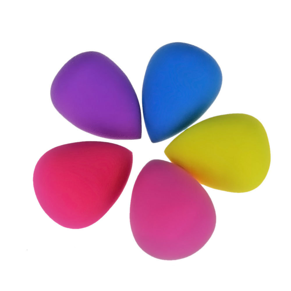 5PCS Beauty Cosmetic Makeup Sponge Blender Powder Foundation Puff Flawless Smooth Shaped Water Droplets Sponges Make Up Tools(China (Mainland))