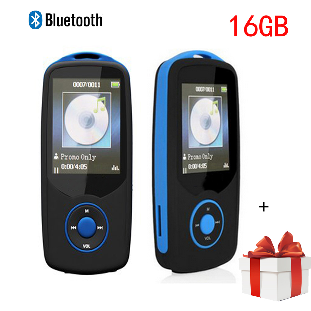 Min Bluetooth mp3 player 16GB Sport RUIZU X06 1.8 Screen 100H Digital MP3 Music Player Video Player HIFI Stereo FM Radio walkman(China (Mainland))