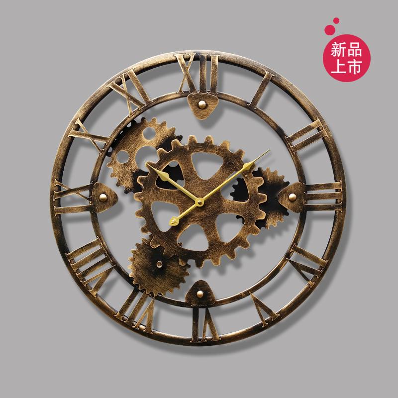 Online get cheap horloge murale engrenages for Horloge murale fer forge