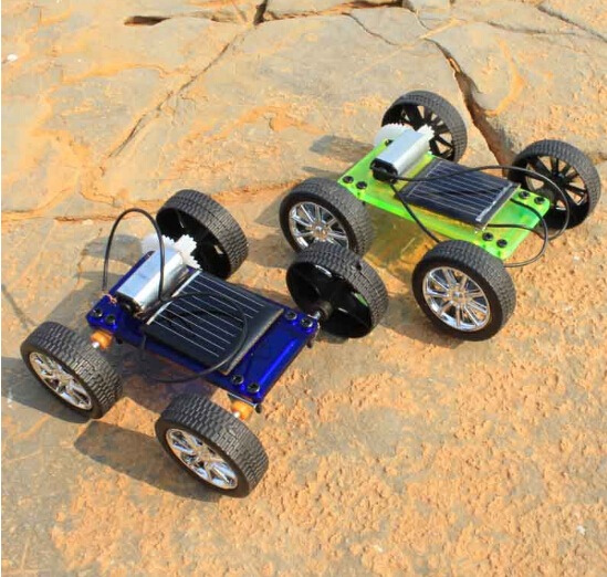 Assembly Mini Solar Powered Toy DIY Car Kit Children Gift Educational Puzzle IQ Gadget Hobby Robot Newest 8x6.8x3.2 cm F17909/11(China (Mainland))