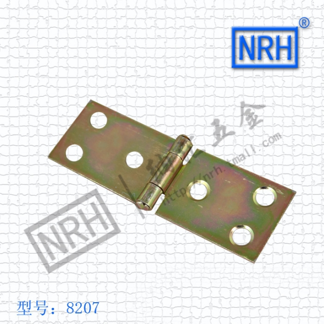 NRH8207color zinc plating Strap Hinge GB cold rolled steel Strap Hinge wooden case Strap Hinge High quality factory direct sales(China (Mainland))
