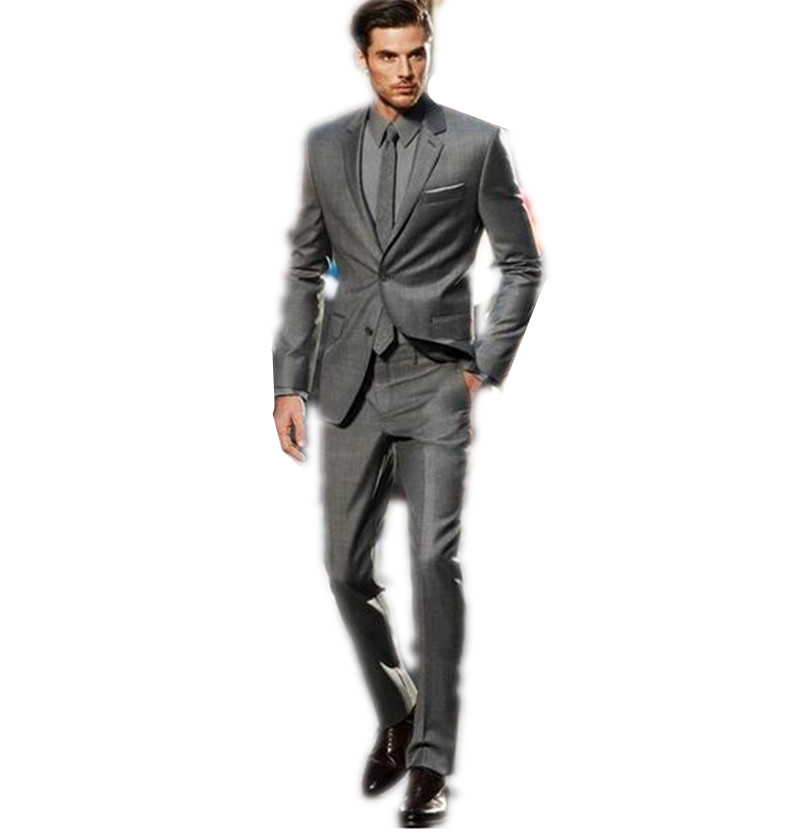 Blazers Men Business Suit Tailored Three Pieces Two Button Wedding Party Prom Dress Clothing For Men (jacket+pants+tie)  Одежда и ак�е��уары<br><br><br>Aliexpress