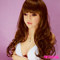 Rifrano Lifelike solid Silicone sex doll 165cm full body for real silicone love Doll for vagina