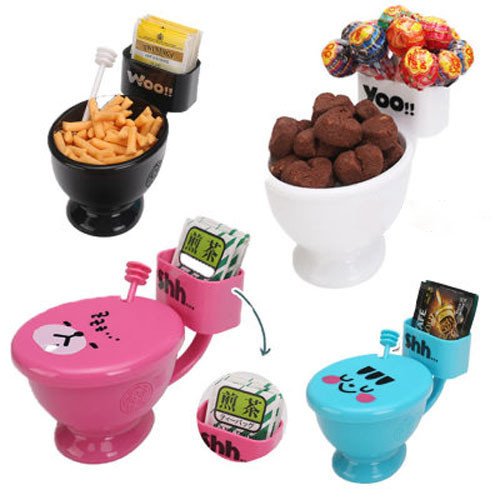Toilet Mug Coffee Tea Cup Cereal Sundae Bowl Candy Dish Unique Great Gifts with a spoon cups(China (Mainland))