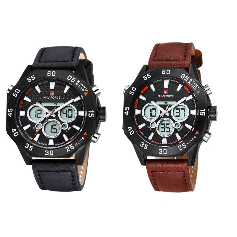 2015 mens wristwatches top brand luxury naviforce 9043