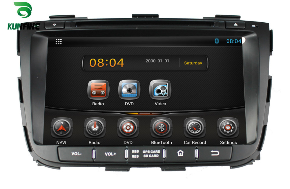 Android 4.2 Car DVD GPS 3G Wifi RDS Radio Tuner,Touch Screen,TV For KIA SORENTO 2013 free map +fast shipping KF-8065<br><br>Aliexpress