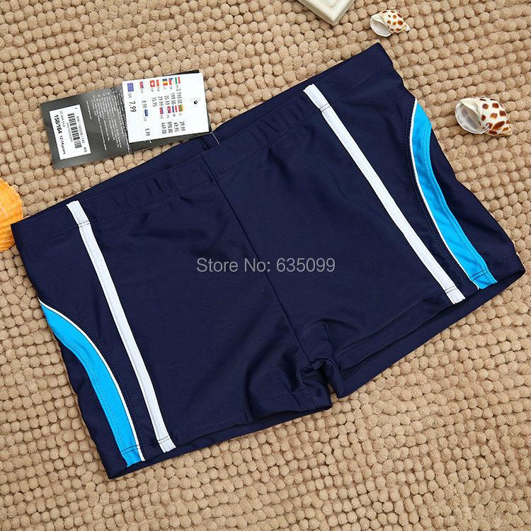 12 - 14 т новые большие мальчики бренд купальники мальчик полосатый PatchTrunks пляж носить дети боксер высокое качество купальник для детей