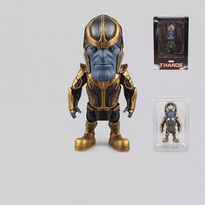 """Marvel Universe The Avengers Thanos PVC Action Figure Collectible Model Toy 4"""" 10cm 2 styles(China (Mainland))"""