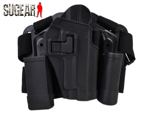 CQC Holster Set W/Platform Magazine Pouch SIG P226 Outdoor Airsoft Combat CS Wargame Shooting For Tactical Training Black Color<br><br>Aliexpress