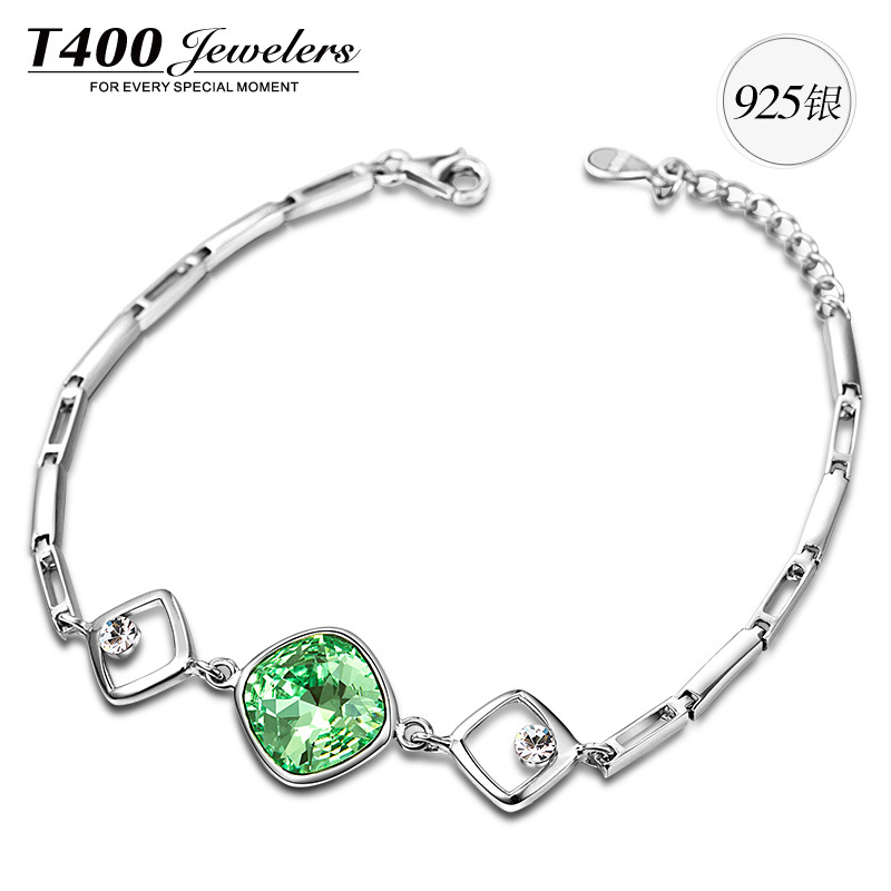 2014 bracelets bangles T400 Made with Swarovski Elements crystal star shape bracelets for women #3448 free shipping(China (Mainland))