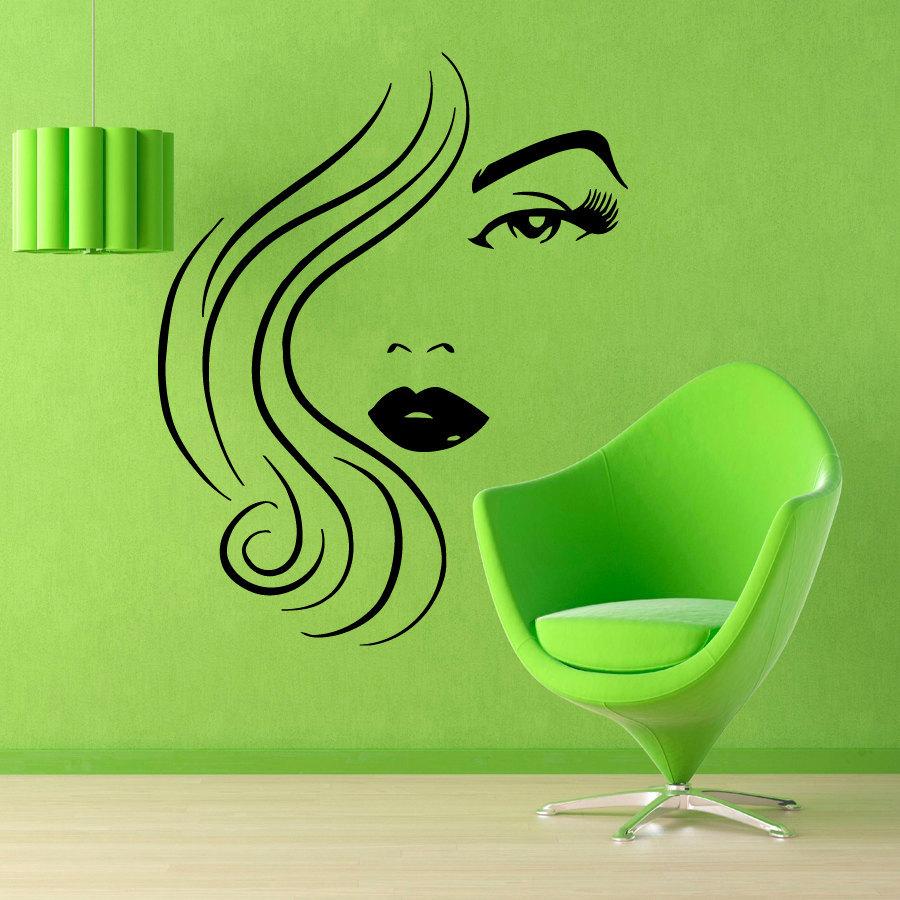 Роспись стен в салон красоты