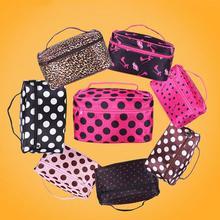 6 Colors Portable Make up Organizer Storage Bag Women Casual Travel Bag Multi Function Cosmetic Bags Makeup Handbag BU16
