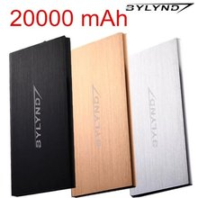 Dual USB 20000mah Power Bank Portable batterie externe pack Charger emergency battery charger Powerbank Backup power