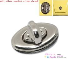Purse Twist Turn Lock Silver Tone 35x33mm 34x20mm 35x20mm 25x31mm,10 Sets (B22671)(China (Mainland))