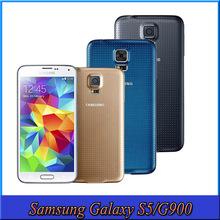 Samsung Galaxy S5 I9600 2GB RAM 16GB ROM 16MP Camera Quad Core NFC 5.1″ Cell Phones Original 4G FDD-LTE+WCDMA+GSM Smartphone
