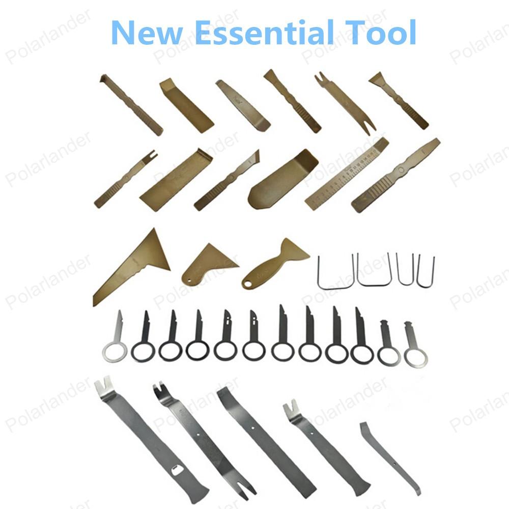 Оптовая продажа бесплатная доставка ремонт автомобилей комплект инструментов автомобиля средство для удаления панели 36 шт./компл. высокое качество
