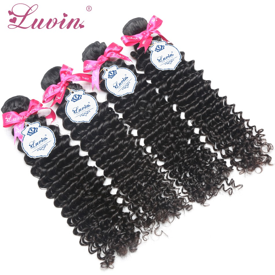 Luvin Hair Products Malaysian Curly Hair Weft 3 Bundles 100% Unprocessed Human Virgin Hair Free Shipping(China (Mainland))