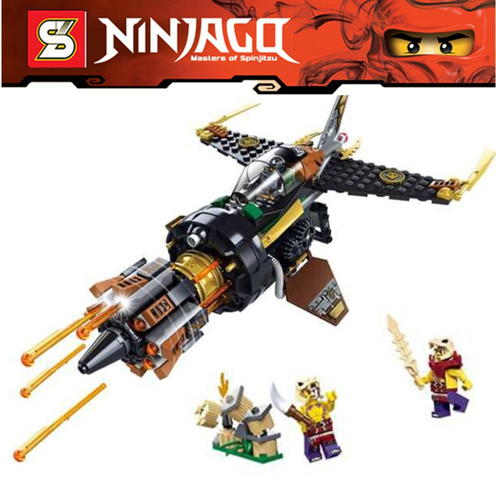 26Ninjago Set Boulder Blaster Cole Zugu Sleven Ninja Building Bricks Blocks Minifigures Toys Lepin 70747  -  Top Toy Seller store