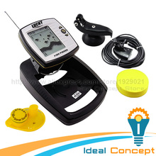 LUCKY 2-in-1 Fish Finder Wired / Wireless Fishfinder Depth Sounder Sensor Transducer Fish Detector Monitor(China (Mainland))
