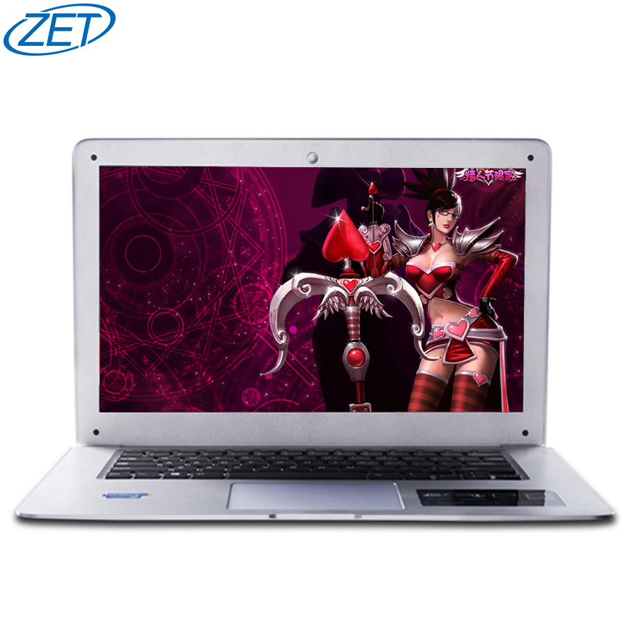 ZET 4GB Ram+120GB SSD+500GB HDD 1920x1080P FHD Quad Core Fast Running Windows 7/10 system Ultra thin Laptop Notebook Computer(China (Mainland))