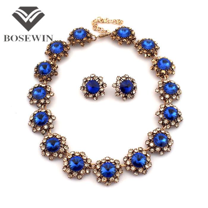 Aliexpress.com : Buy Fashion Brand Flower Jewelry Sets ...