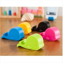 4161 small fresh cute whale bedside phone small bracket multifunctional mobile phone holder 31g(China (Mainland))