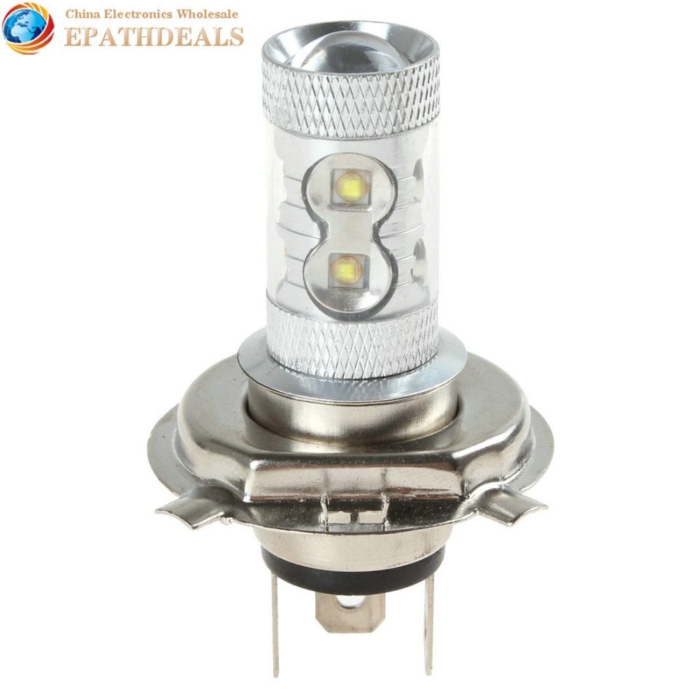 H4 12V 50W 960LM High Power White CREE LED Car Fog Lamp Car Daytime Running Light Bulb(China (Mainland))