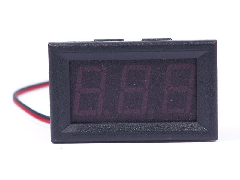 Hot DC 0 30V Voltmeter Green LED Panel 3 Digital Display Volt Voltage Meter 55836
