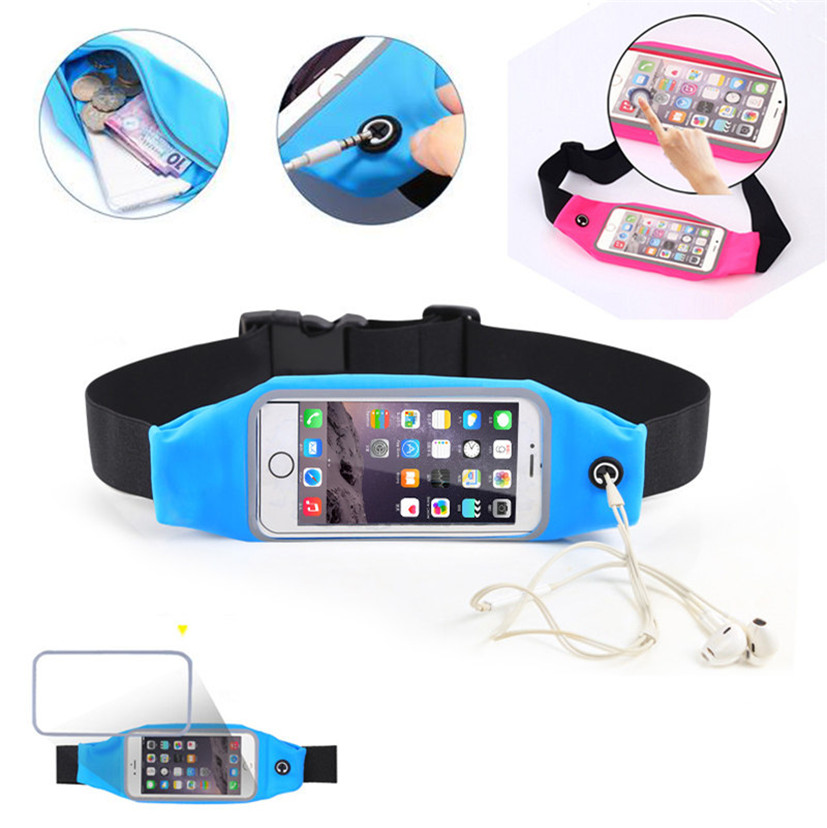 Fashion Gym Waist Bag Waterproof Sport Case For Samsung Galaxy S7 G9300 G930A S7 Edge G935 G9350 Outdoor Traval Phone Packs(China (Mainland))