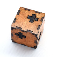 Kids Toys Swiss Cube A Wooden Toys Of 3d Puzzle Also For Adult Kong Mingsuo(China (Mainland))