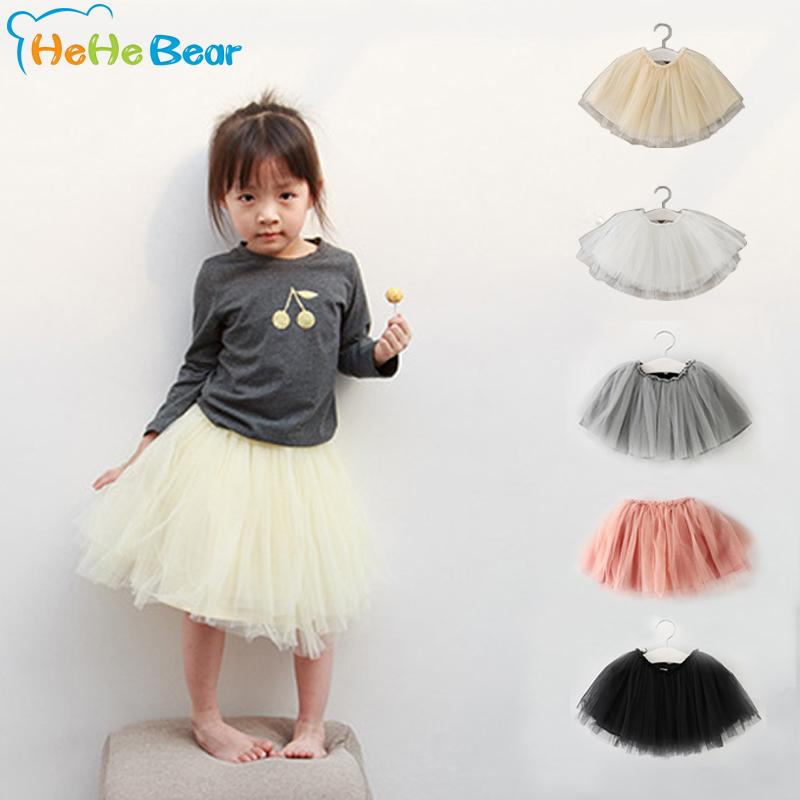 So Cute !! 2016 New Fashion Baby Skirt Children Girl Fluffy Chiffon Tutu Princess Dance Skirts Pettiskirt For Kids(China (Mainland))