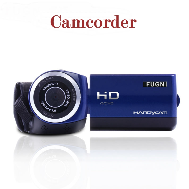 2.4 Inches Touch Screen Camcorder Best HD Professional Movie Video Home Camera Recorder Cam Digital Camcorder Flash Camera F20(China (Mainland))